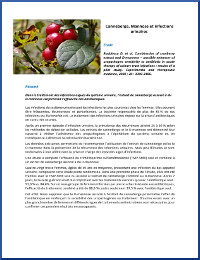 Canneberge, Mannose et infections urinaires